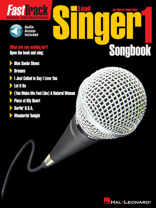 FastTrack Lead Singer 1 – Songbook 1