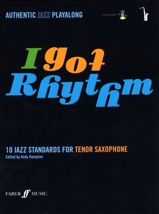 I Got Rhythm - 10 Jazz Standards For Tenor Saxophone Tsax Book/Cd