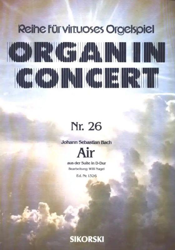 Johann Sebastian Bach Air Aus Der Suite Nr. 3 In D-Dur