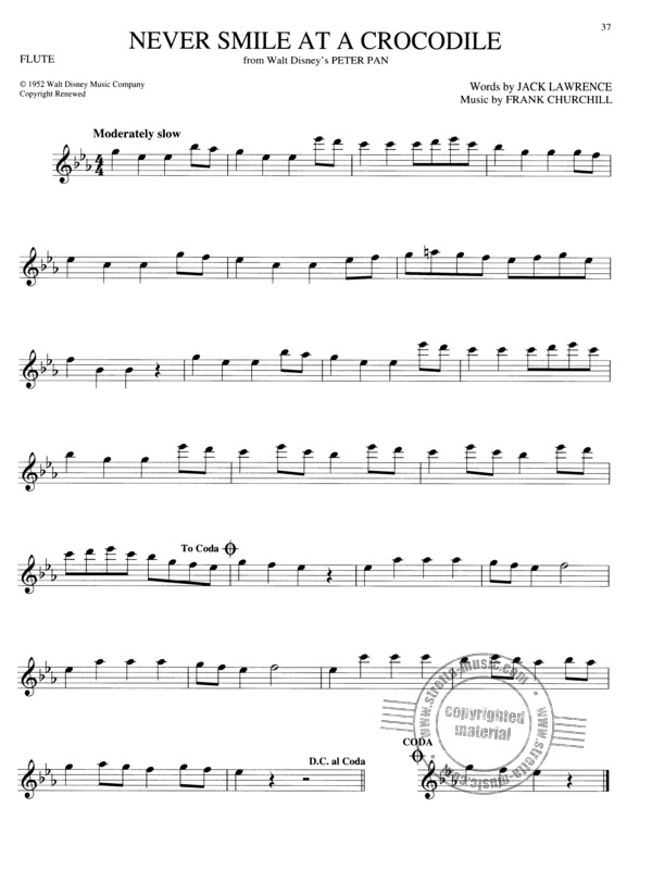 The Big Book Of Disney Songs - Flute (3)