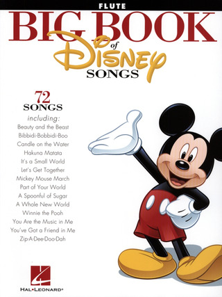 The Big Book Of Disney Songs - Flute