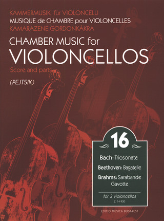 Chamber Music for Violoncellos 16