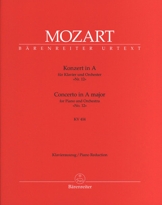 Wolfgang Amadeus Mozart: Concerto No. 12 in A major K. 414