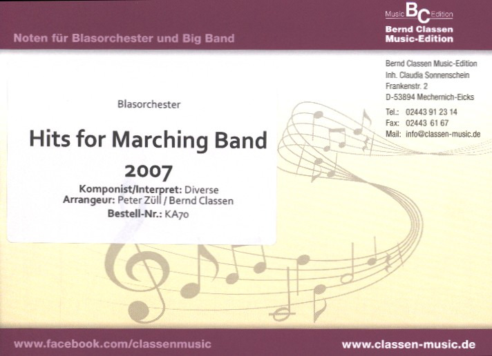 Hits for Marching Band 2007