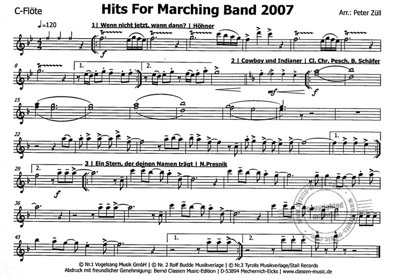 Hits for Marching Band 2007 (3)