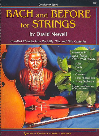 David Newell: Bach And Before For Strings