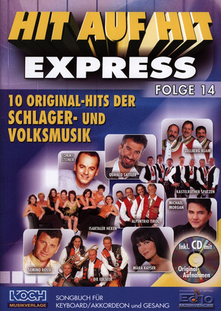 Ennio Morricone: Hit auf Hit Express 14 NOTEN + CD