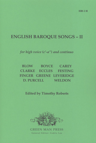 English Baroque Songs vol.2