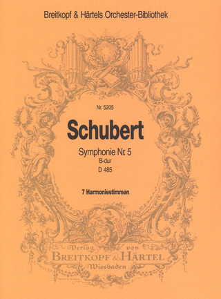 Franz Schubert: Symphony No. 5 in B-flat major D 485