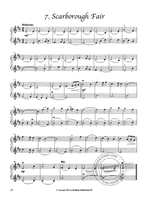 English and Irish Duets for violin (3)