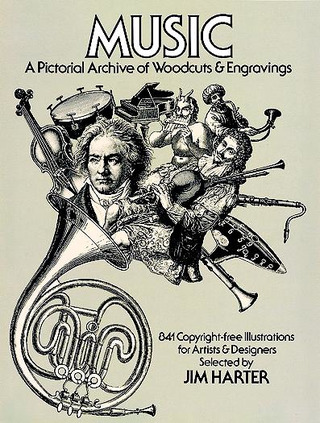 Harter Jim: Music - A Pictorial Archive Of Woodcuts + Engravings