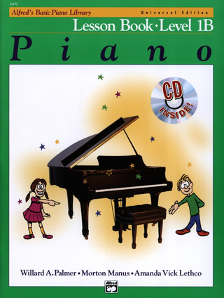 Willard Palmer et al.: Alfred's Basic Piano Library – Lesson Book 1B
