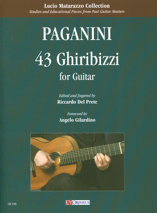 Niccolò Paganini: 43 Ghiribizzi for Guitar