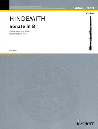 Paul Hindemith: Sonate in B