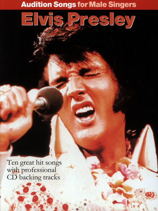 Elvis Presley: Audition Songs For Male Singers: Elvis Presley Pvg Book / Cd