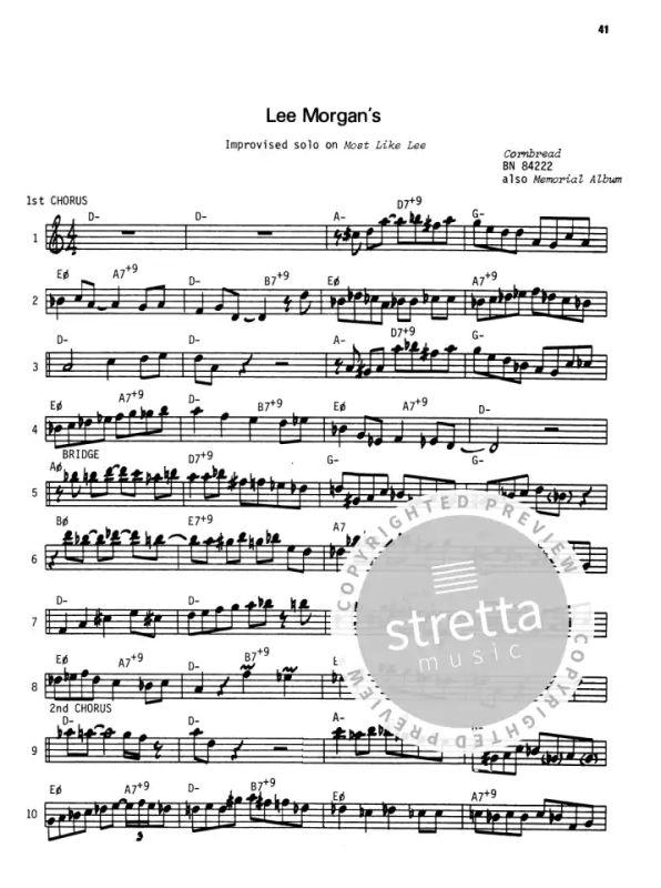 28 Modern Jazz Trumpet Solos 1 from Jamey Aebersold | buy