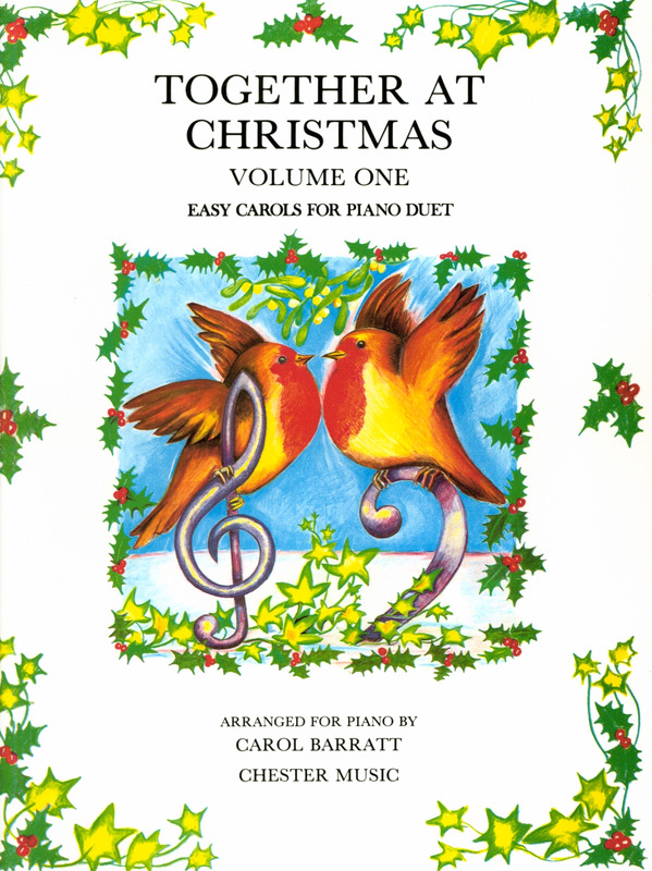 Carol Barratt: Barratt Together At Christmas Book 1 Pf Duet