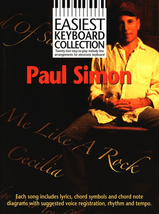 Paul Simon: Easiest Keyboard Collection Paul Simon Kbd