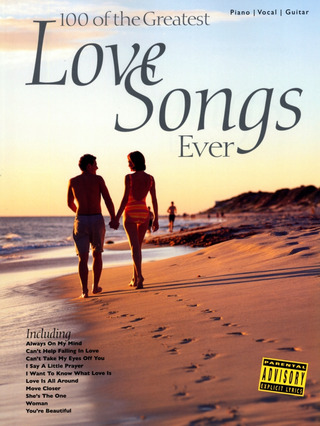 100 Of The Greatest Love Songs Ever Pvg Book