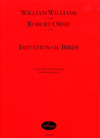 Williams, William / Orme, Robert: Imitation of Birds