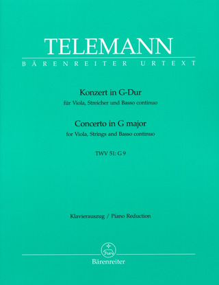 Georg Philipp Telemann: Concerto in G major TWV 51:G9
