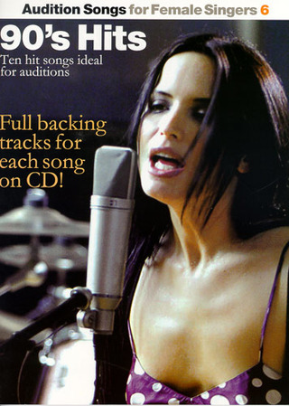 Audition Songs For Female Singers Book 6 90S Bk/Cd