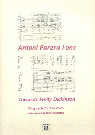 Antoni Parera Fons: Towards Emily Dickinson