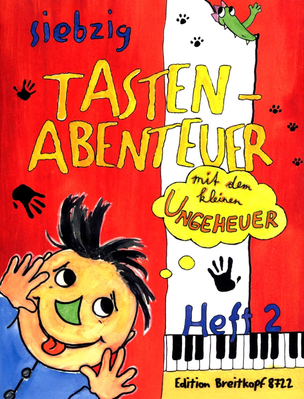 Karin Daxböck m fl.: 70 Keyboard Adventures with the Little Monster