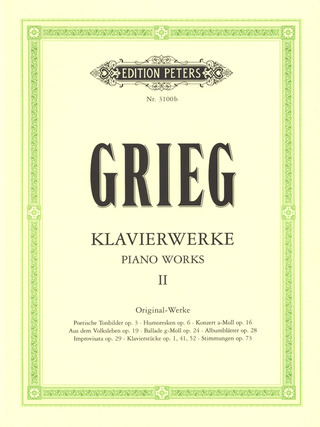 Edvard Grieg: Piano Works 2