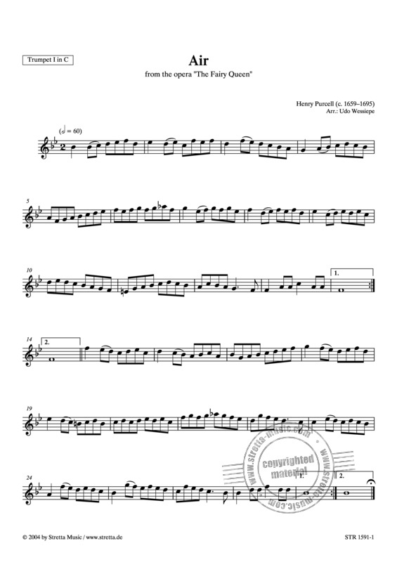 Henry Purcell: Air (1)