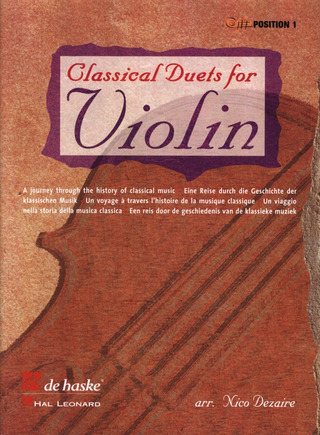 Classical Duets for Violin