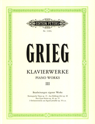 Edvard Grieg: Piano Works 3