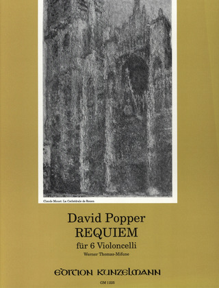 David Popper: Requiem op. 66