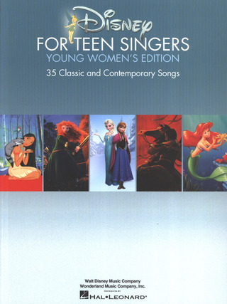 Disney For Teen Singers – Young Women's Edition