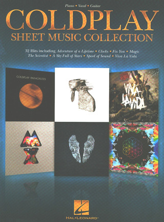 Coldplay: Sheet Music Collection