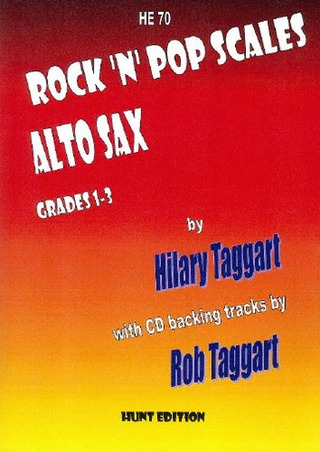 Hilary Taggart et al.: Rock 'n' Pop Scales Alto Sax Grades 1-3