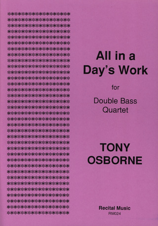 Tony Osborne: All in a Day's Work
