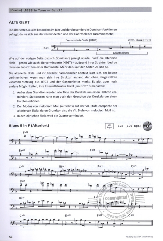 Tino Scholz: [Double] Bass in Tune 1 (6)
