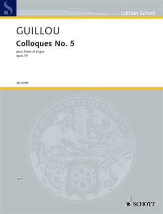 Jean Guillou: Colloque No. 5 op. 19 (1969)