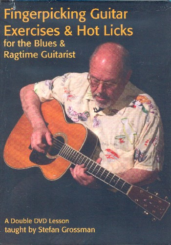Blues And Ragtime Fingerstyle Guitar Blues Guitar SHEET MUSIC BOOK /& CD