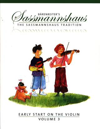 Egon Saßmannshaus: Early Start on the Violin, Volume 3