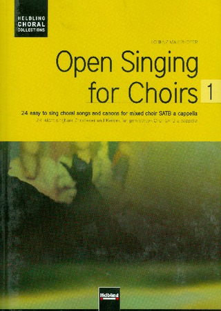 Open Singing for Choirs 1 – Chorausgabe