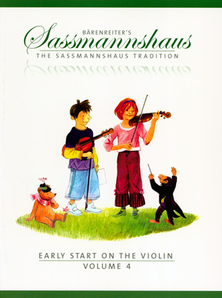 Egon Saßmannshaus: Early Start on the Violin, Volume 4