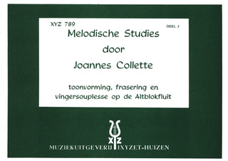 Collette Joannes: Melodious Studies 2