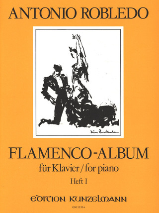 Robledo, Antonio: Flamenco-Album, Heft 1
