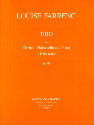 Louise Farrenc: Trio in Es op. 44