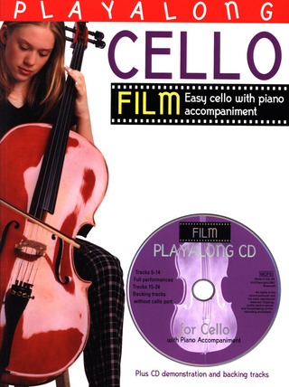 Playalong Cello Film Tunes (Incl. Cd)