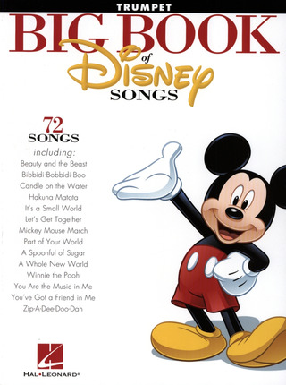 The Big Book of Disney Songs – Trumpet