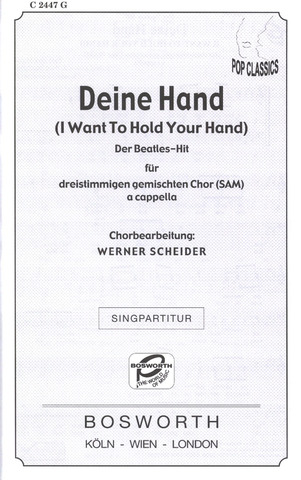 The Beatles: Deine Hand (I Want To Hold Your Hand)