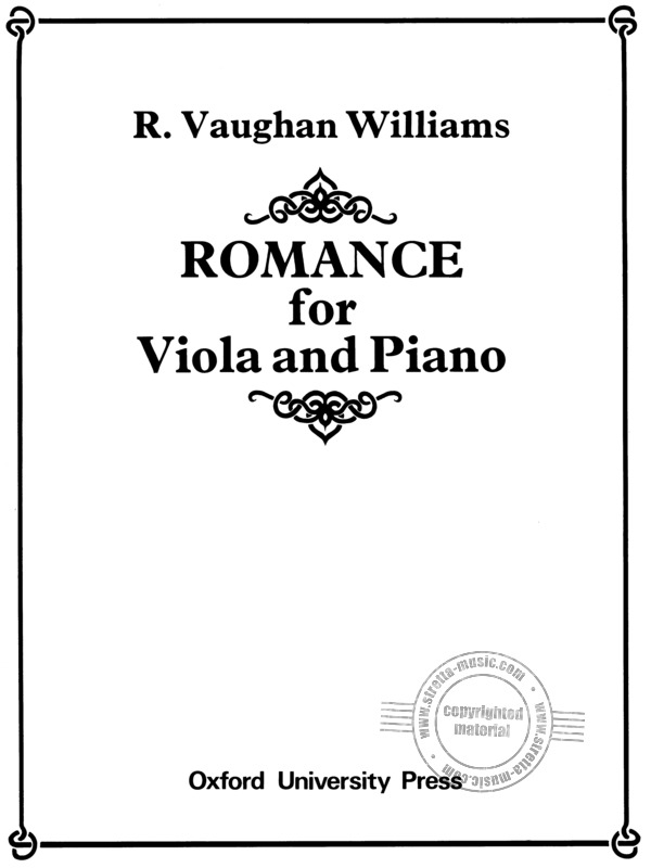 Ralph Vaughan Williams: Romanze